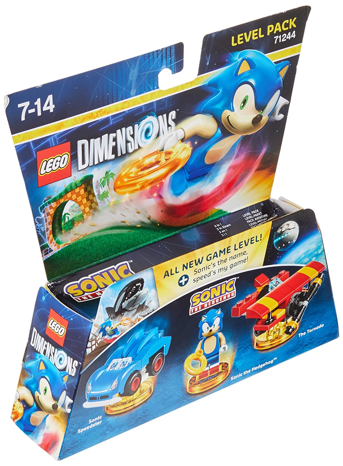 Amazon Com Lego Dimensions Sonic Level Pack Video Games