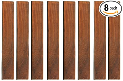 Amazon.com: Bare Decor EZ listones de madera de teca maciza ...