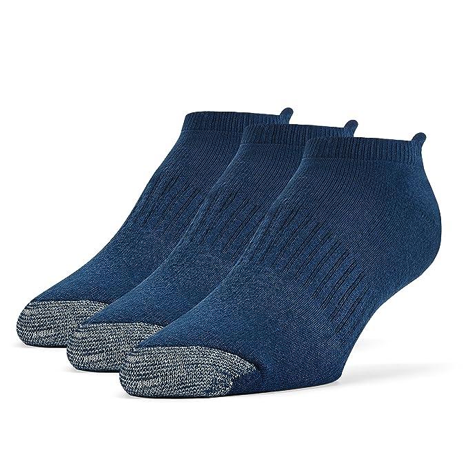 Galiva Calcetines acolchados extra suaves de algodón invisibles, sin mostrar para hombre - 3 pares: Amazon.es: Ropa y accesorios