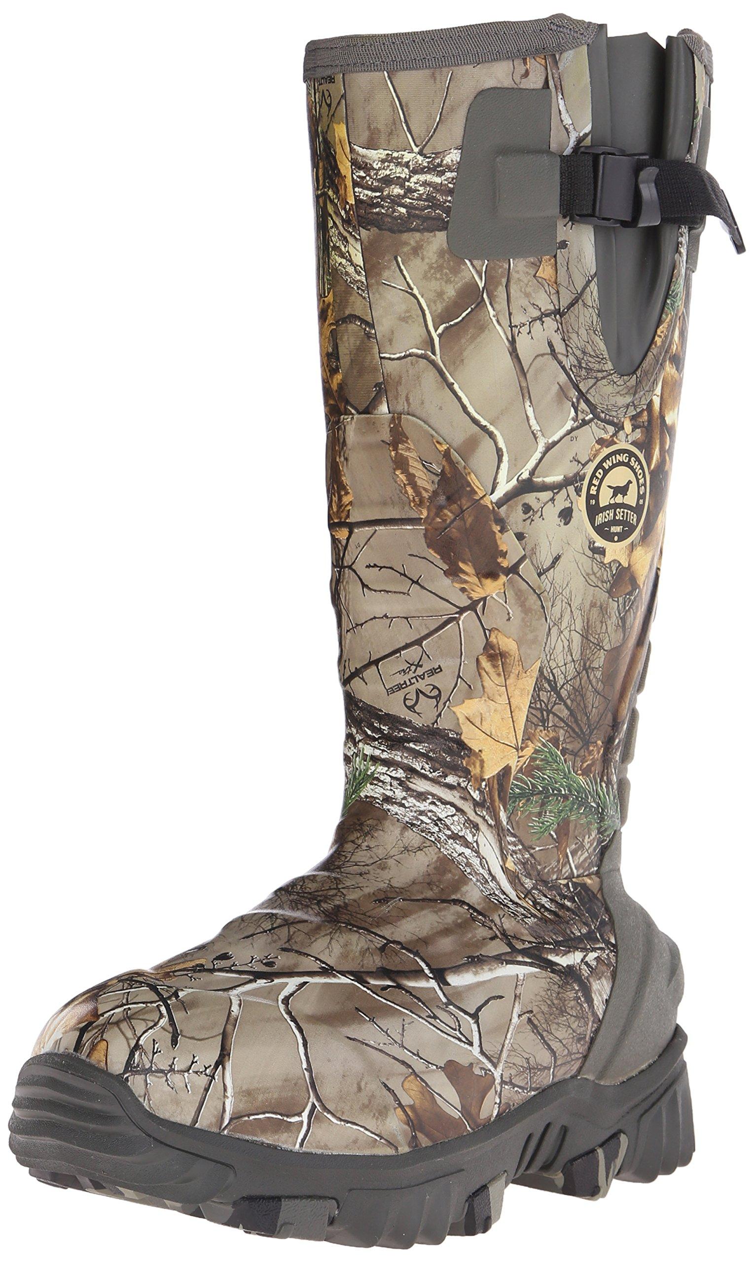 Irish Setter Women's 4887 Rutmaster 2.0 15'' 1200-Gram Rubber Hunting Boot, Real Tree Camo, 11 E US