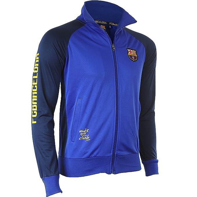 Fc Barcelone - Chándal del Barça, colección oficial del FC Barcelona, talla infantil, Niño, azul, 14 años: Amazon.es: Deportes y aire libre