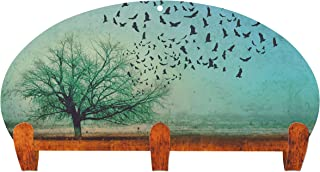 product image for Next Innovations Coat Rack Wall Mounted Blackbirds Three Hook Coat Rack