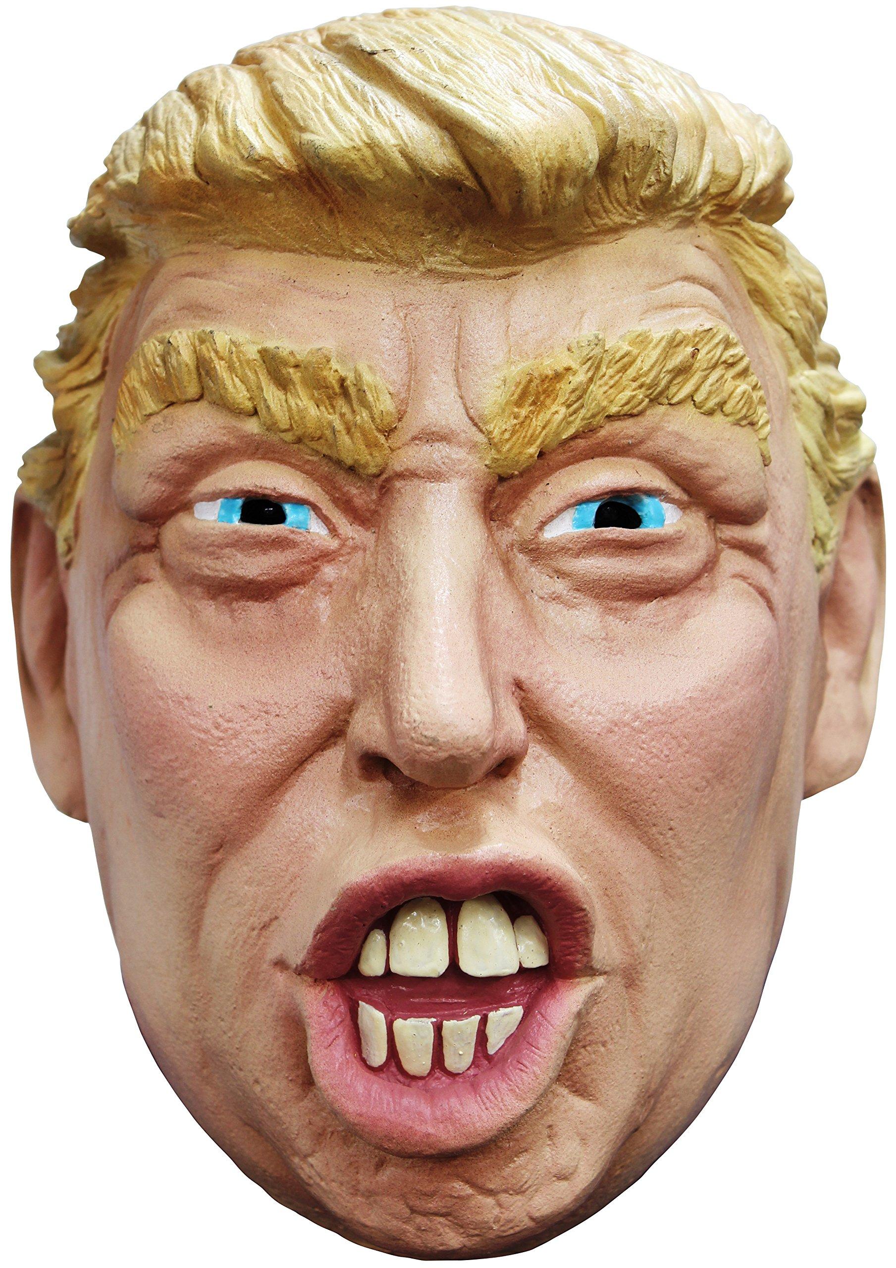 President Donald Trump Funny Latex Halloween Mask Costume Accessory