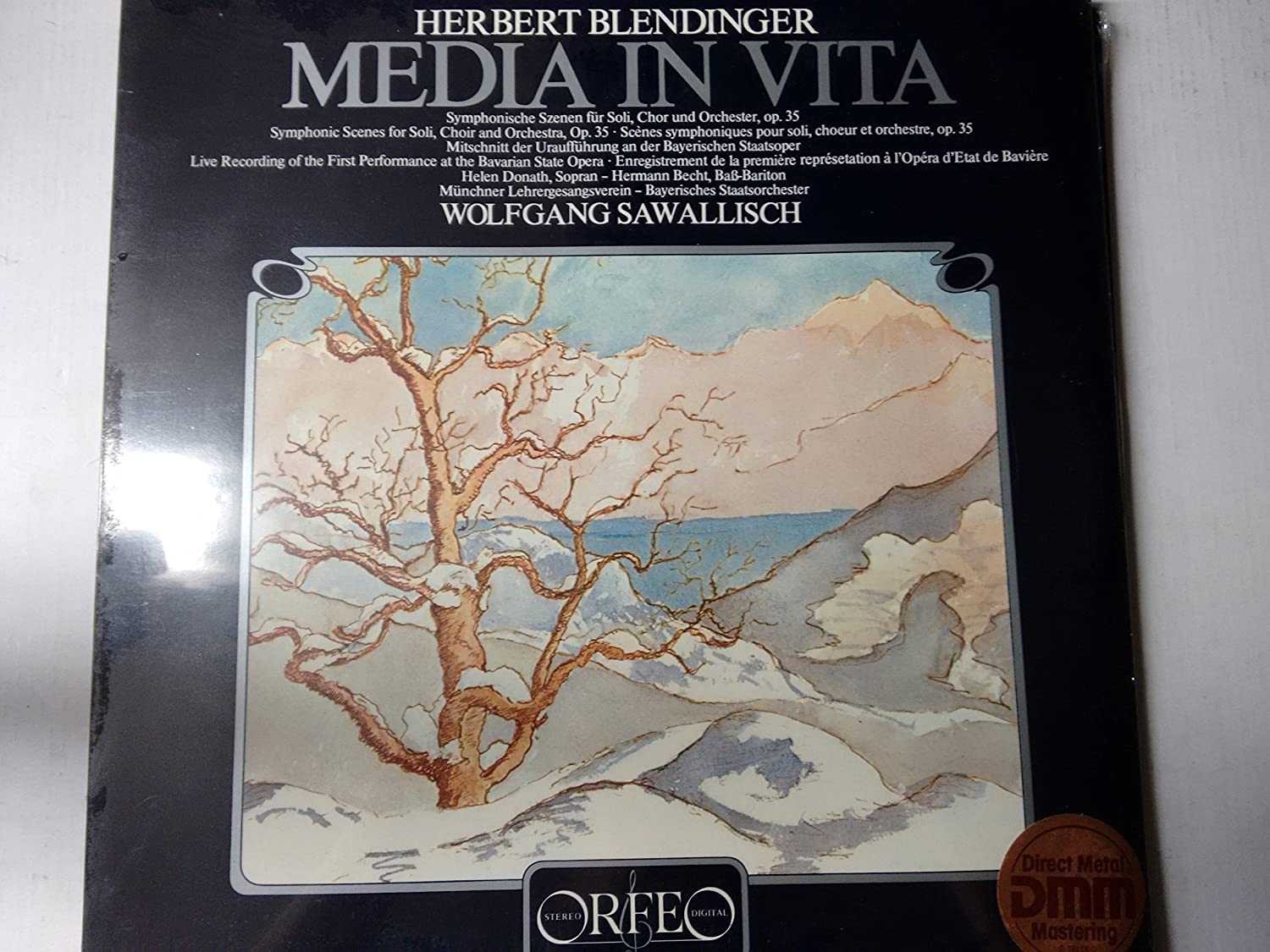BLENDINGER, Herbert: Media Vita (Symphonic Scenes for Soli, Choir ...