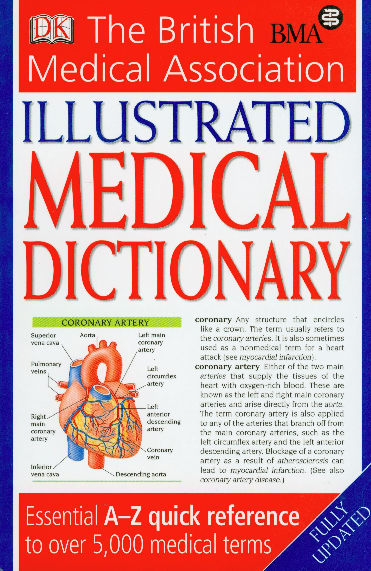 Bma Illustrated Medical Dictionary 2nd Edition Essential A Z Quick