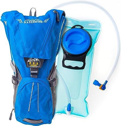 1 L Litre Hydration Pack Water Bladder Bag Hiking Outdoor Backpack Sport System