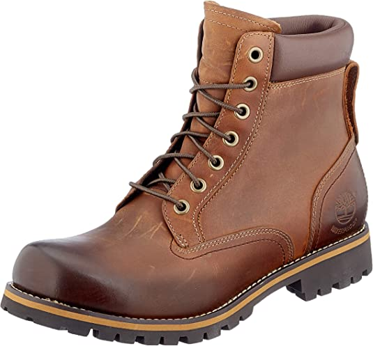 Timberland Rugged 6 Inch Plain Toe Waterproof, Botas para Hombre