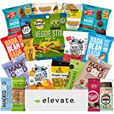 Premium GLUTEN FREE and VEGAN (DAIRY and SOY FREE) Healthy Snacks Care Package [ 20 Count ] Plant-Based Snack Box: Mix Of Fruit, Nuts, Cookies, Fathers Day Gift Box, Birthday Basket