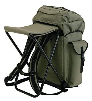 angler rucksack mit stuhl