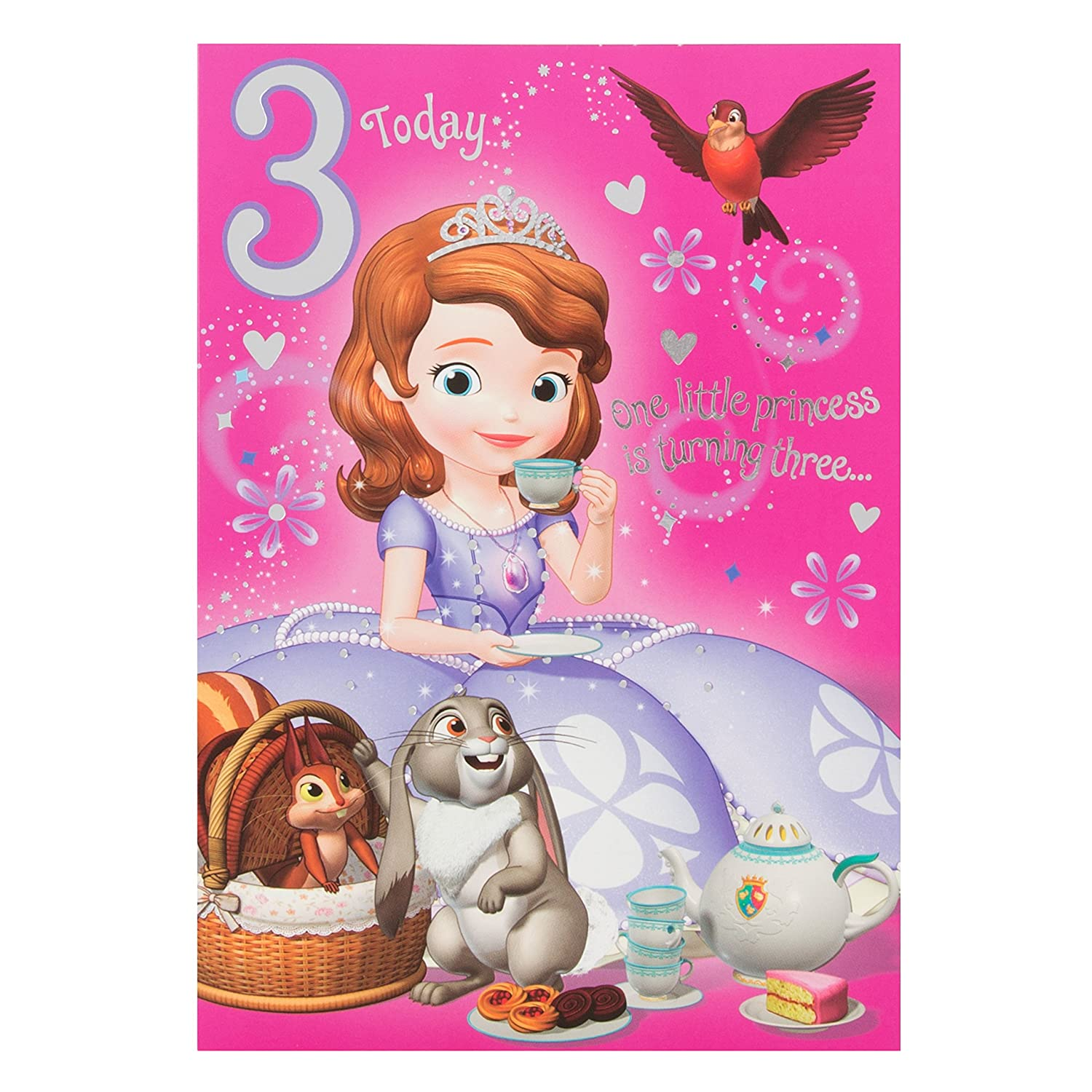 Disney Princess Birthday Card halloween clearance decorations