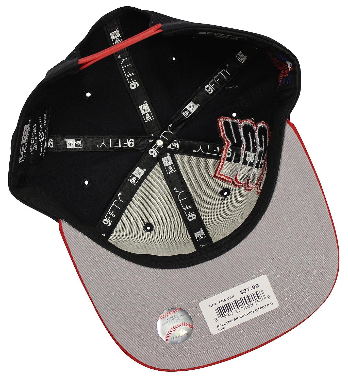 9871830c646ab New Era 9Fifty Rally Mark Atlanta Braves Navy Snapback at Amazon Men s  Clothing store