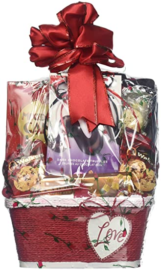 Amazon Com Gift Basket Village X S And O S Valentines Day Gift