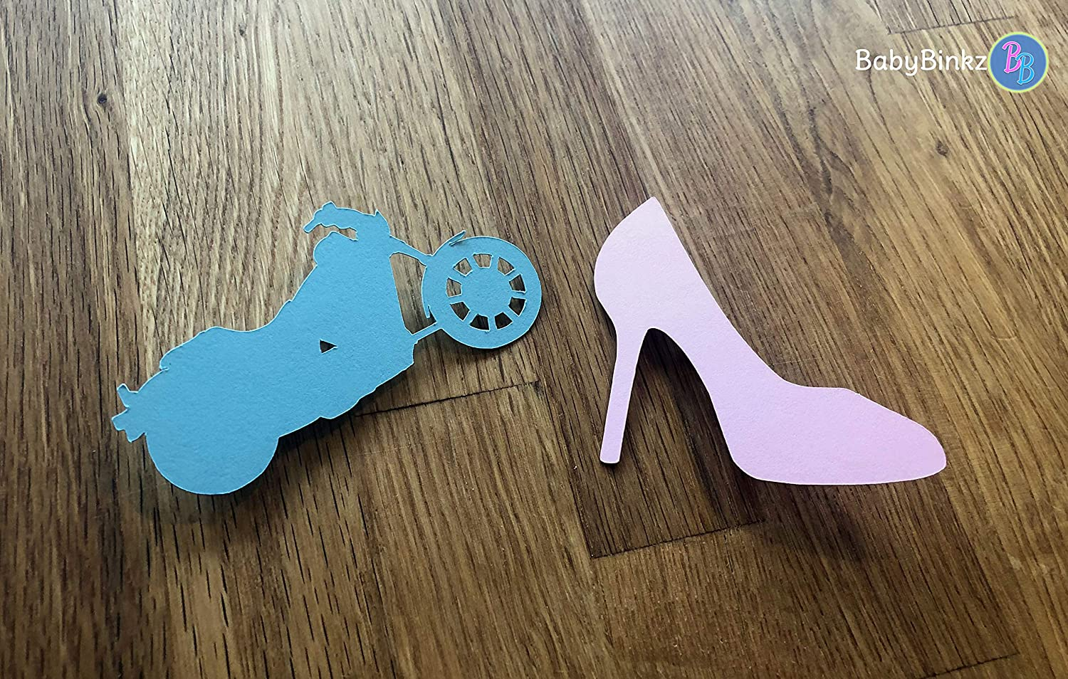 Guns or Glitter Gender Reveal Party Pins//Game Set of 12
