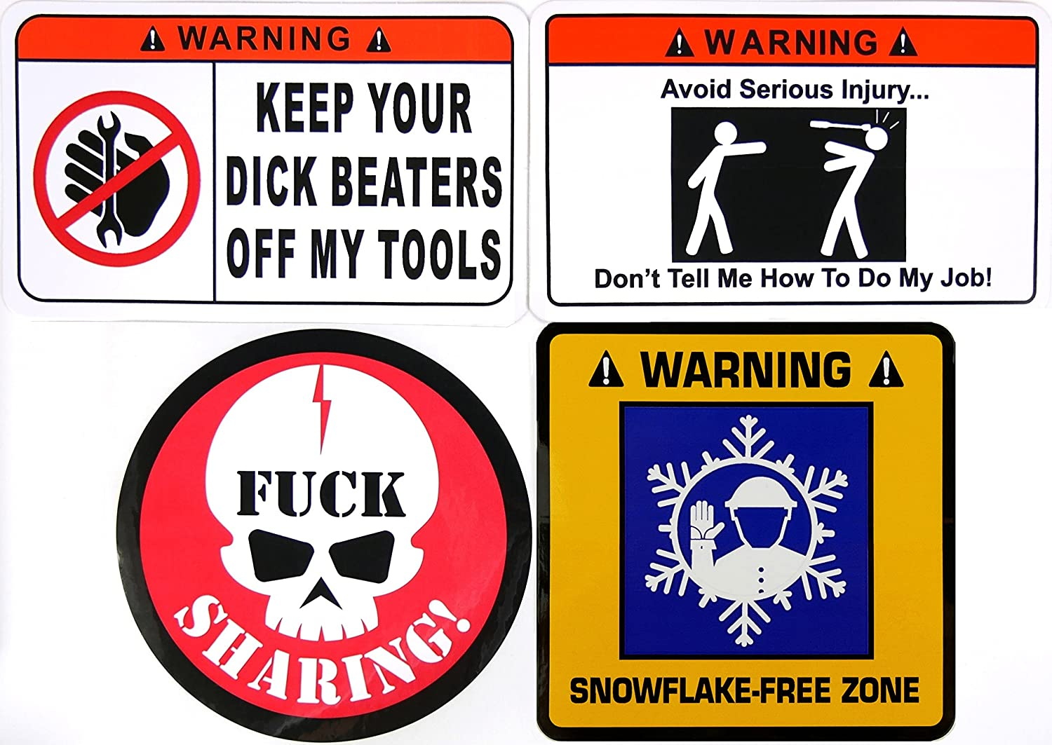 Keep your Dick Beaters Off my Tools Vinyl // Magnet // Banner