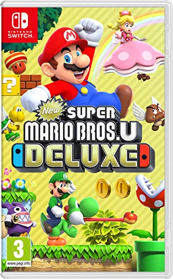 New Super Mario Bros. U Deluxe - Nintendo Switch [Importación inglesa]: Amazon.es: Videojuegos