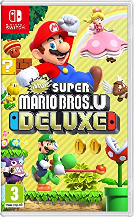 New Super Mario Bros  U Deluxe (Nintendo Switch): Amazon co