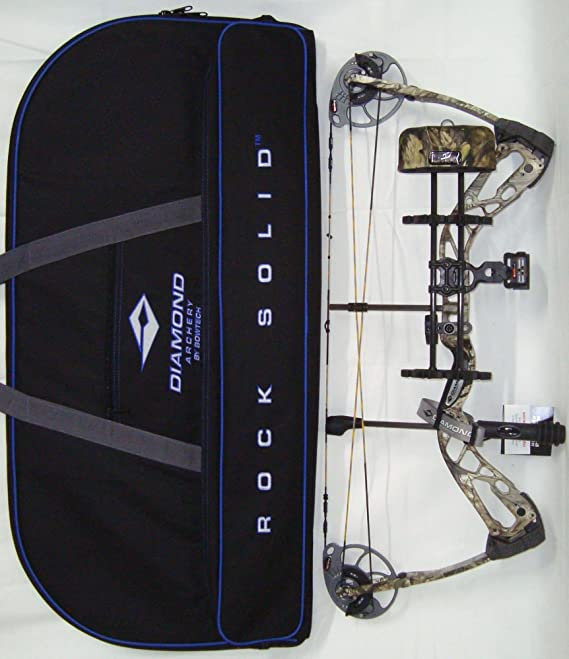 Review Diamond Edge SB-1 Compound Bow, Breakup Country Camo, RAK Package, Right Hand, 7-70lbs, with Diamond Soft Bow Case
