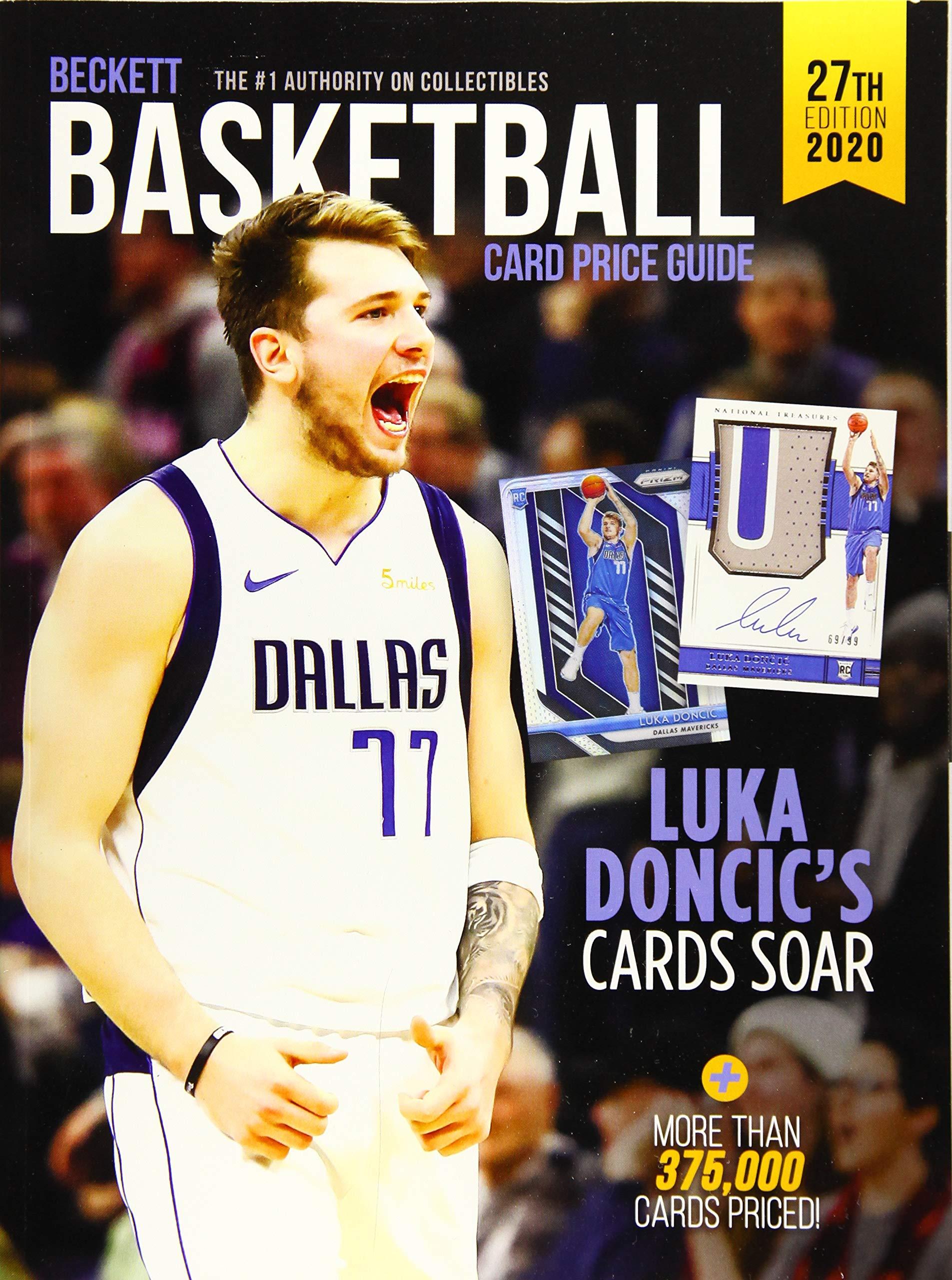 Beckett Basketball Price Guide  27 2019 Edition  Beckett Basketball Card Price Guide