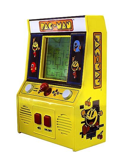 Pac Man Machine >> Amazon Com Arcade Classics Pac Man Retro Mini Arcade Game Toys