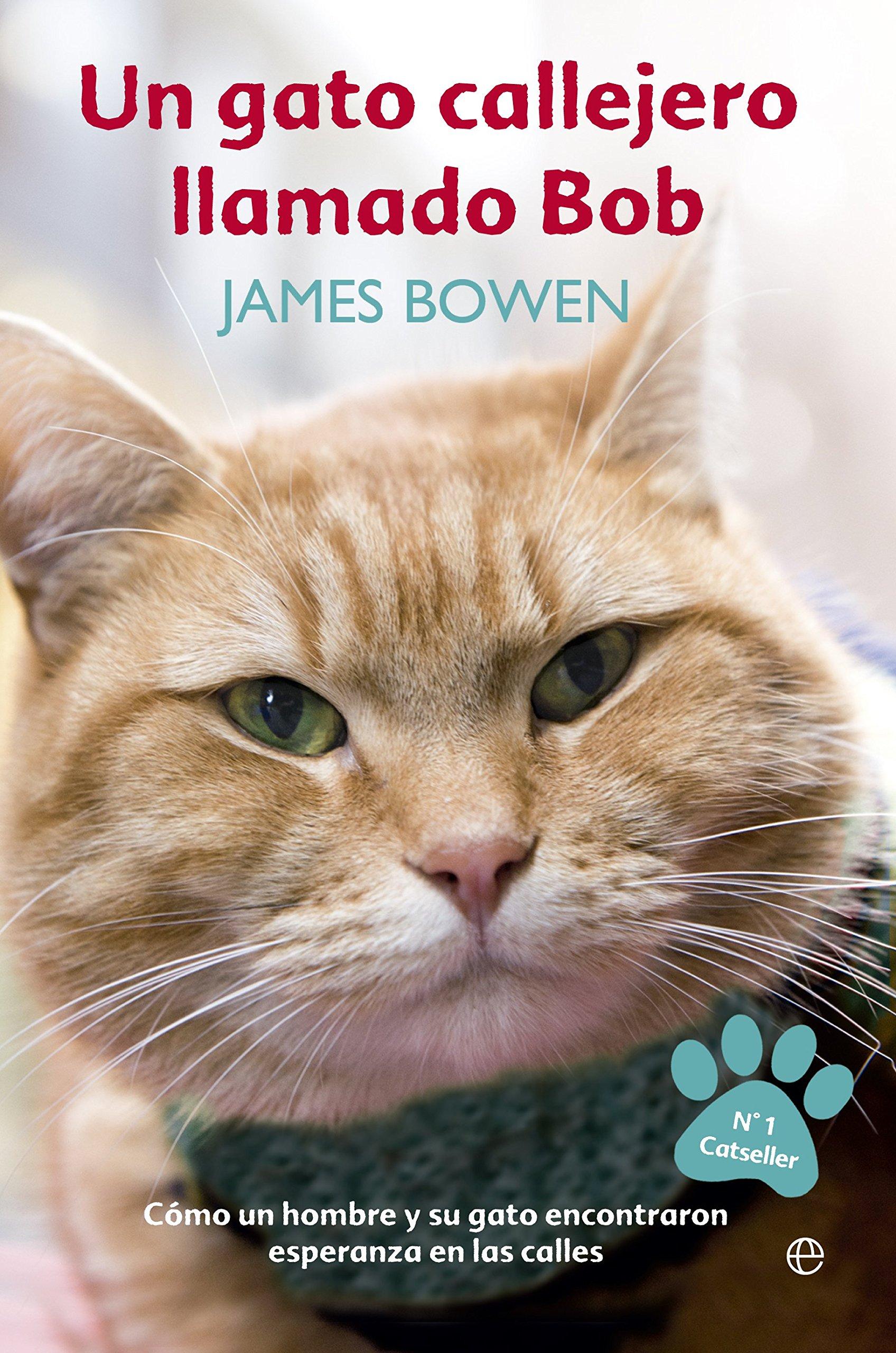 Un Gato Callejero Llamado Bob (Autoayuda): Amazon.es: Bowden ...