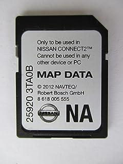 3ta0b 2013 nissan connect sd card navigation gps map data navteq na