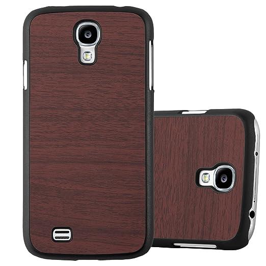 3 opinioni per Cadorabo- TPU Hard Cover in Ottica di Legno per Samsung Galaxy S4- Case Cover