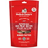 Stella & Chewy's Freeze-Dried Raw Remarkable Red Meat (Beef, Goat & Lamb) Recipe Dinner Patties, 14 oz. Bag
