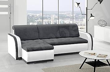 Kleines Ecksofa Sofa Eckcouch Couch Mit Schlaffunktion Und Bettkasten L Form  Polstergarnitur Große Farbauswahl