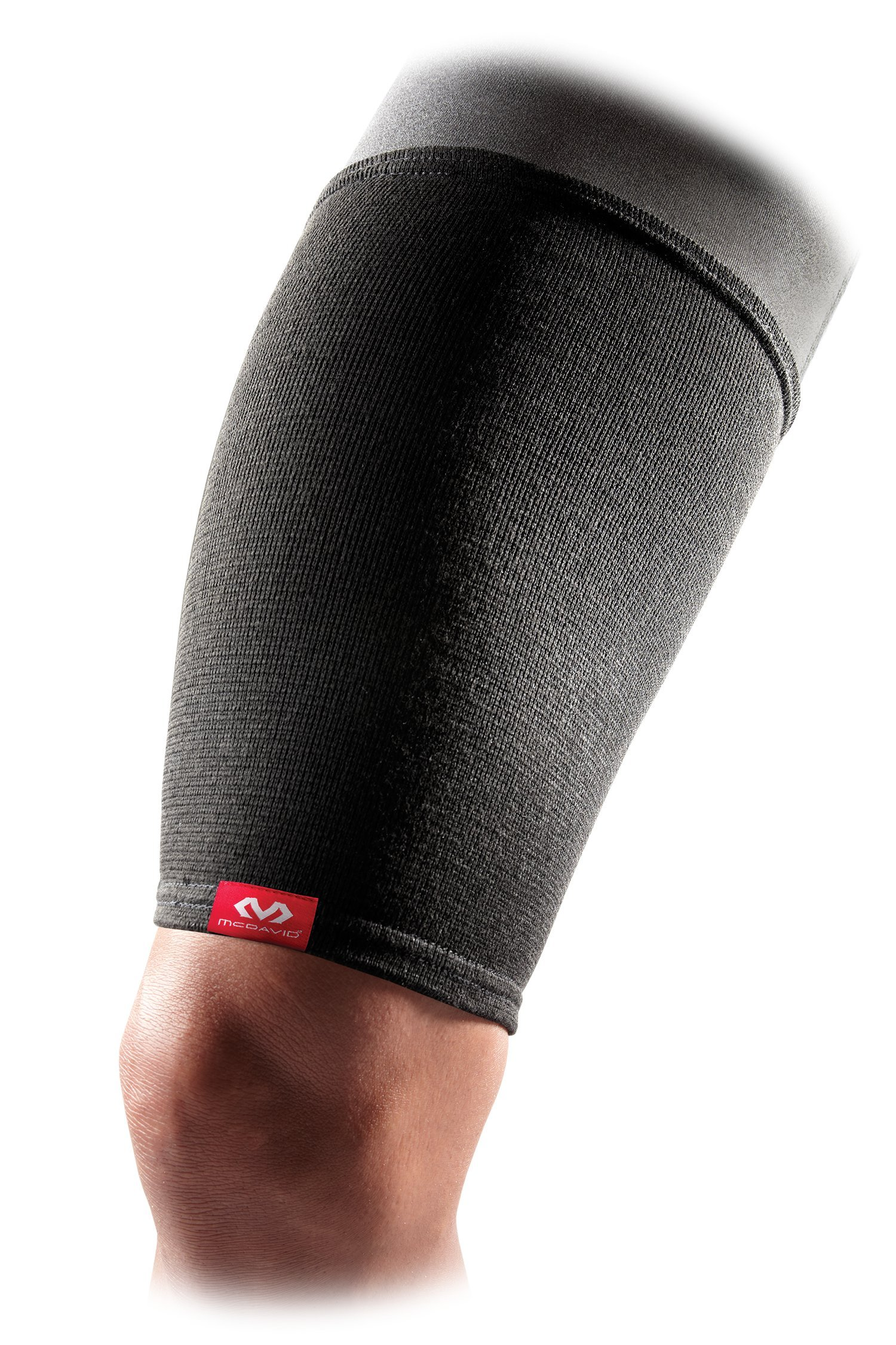 McDavid 514R Level 1 Elastic Thigh Sleeve, Black, Small