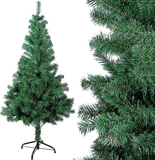 OZAVO Árbol de Navidad Artificial de Pino(Verde 150cm 400 Ramas ...
