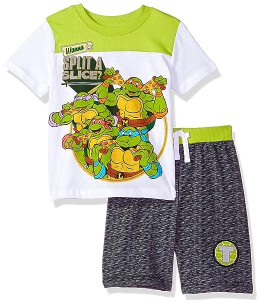 Amazon.com: Nickelodeon Boys corta y cuello redondo las ...