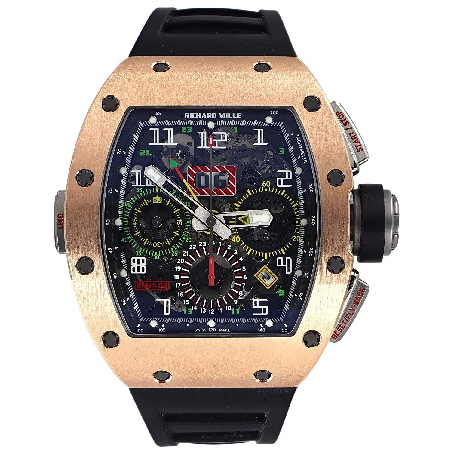 Richard Mille RM 011 Automatic-self-Wind Male Watch RM011-02 (Certified Pre-Owned)