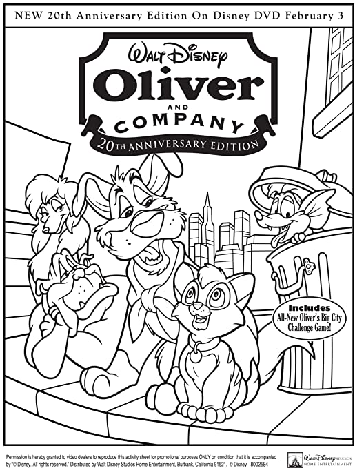 Amazon Com Oliver And Company 20th Anniversary Edition Taurean