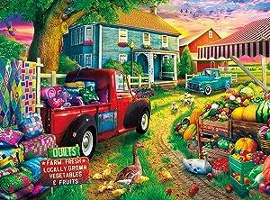 Buffalo Games - Quilt Farm - 1000 Piece Jigsaw Puzzle