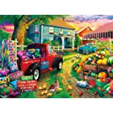 "Buffalo Games - Quilt Farm - 1000 Piece Jigsaw Puzzle, Multicolor, 26.75"" L X 19.75"" W (11922)"