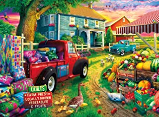 product image for Buffalo Games - Quilt Farm - 1000 Piece Jigsaw Puzzle