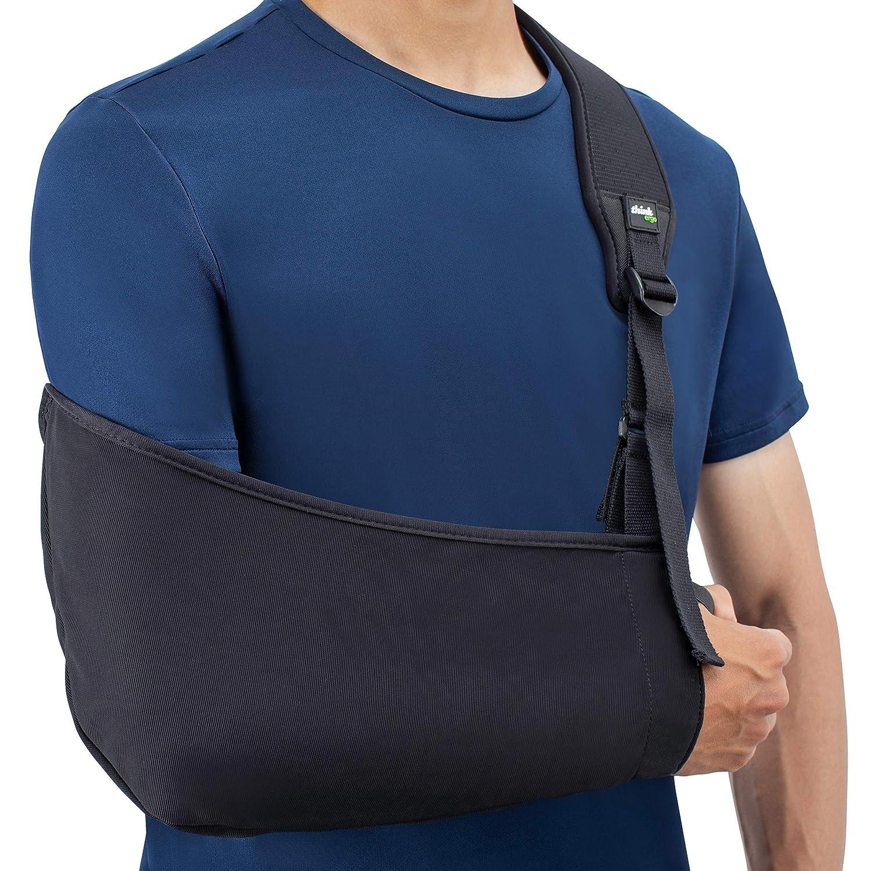 Amazon.com: Think Ergo Arm Sling Air - Lightweight, Breathable,  Ergonomically Designed Medical Sling for Broken & Fractured Bones -  Adjustable Arm, ...