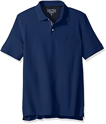 2788a7a6 Nautica Men's Classic Short Sleeve Solid Polo Shirt at Amazon Men's  Clothing store: