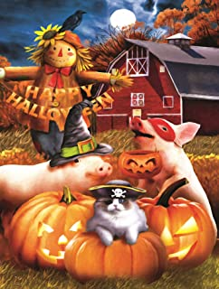 product image for Happy Halloween 500 pc Jigsaw Puzzle by SunsOut
