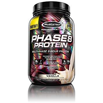f692ddb70 Image Unavailable. Image not available for. Color  MuscleTech Phase8 Protein  ...