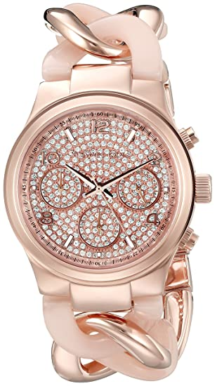 Michael Kors MK4283 - Reloj (Reloj de pulsera, Femenino, Acero inoxidable, Oro