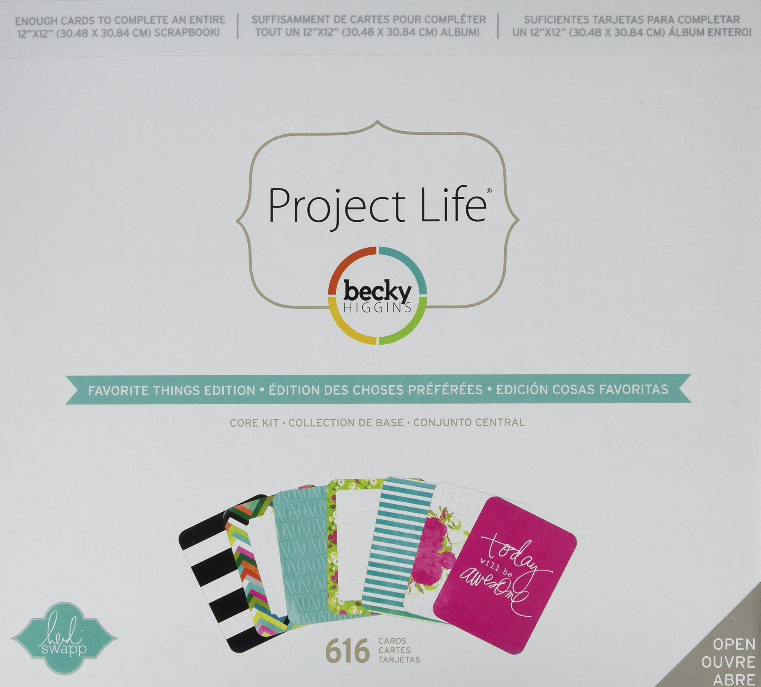 Project Life 718813981804 Favorite Things Edition Core Kit
