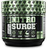 NITROSURGE Pre Workout Supplement - Endless Energy, More Strength, Sharp Focus, & Intense Pumps - Nitric Oxide Booster & Preworkout Energy Powder - 30 Serving, Cherry Limeaide ( 8.5 oz)