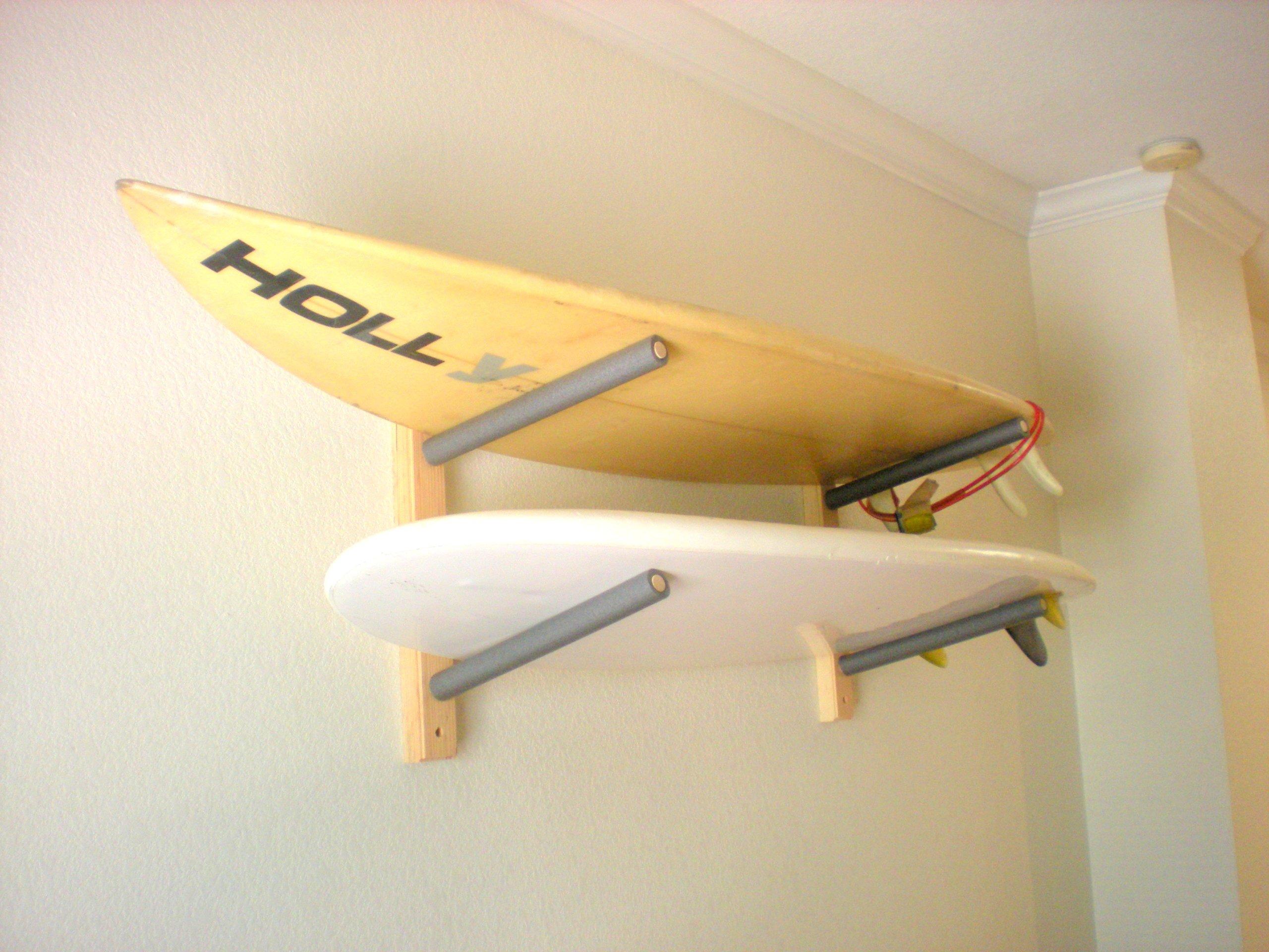 Surfboard Wall Rack Mount - Holds 2 by Pro Board Racks