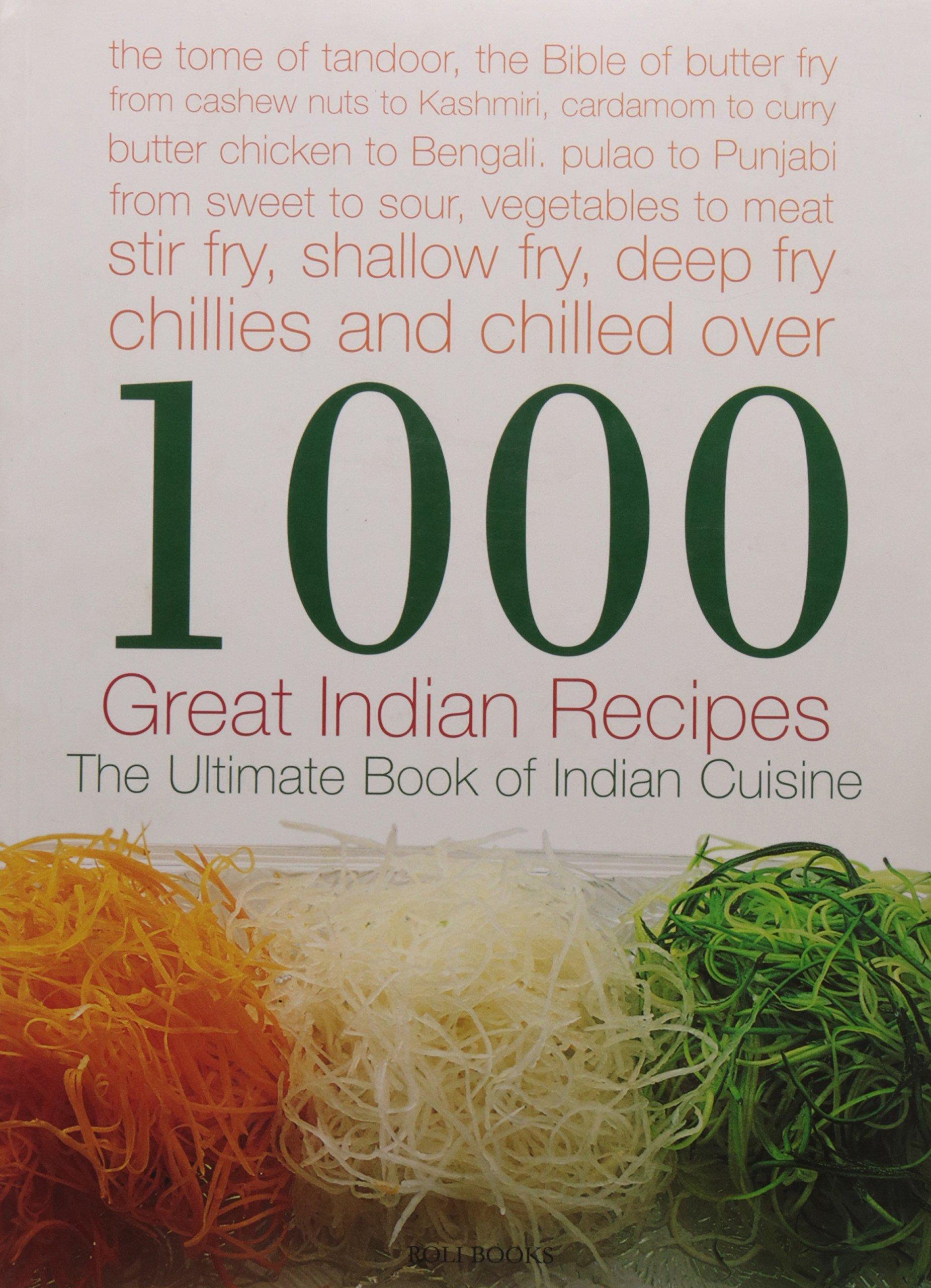 Download 1000 Great Indian Recipes pdf epub