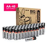 Amazon Price History for:Energizer AA Batteries, Double A Battery Max Alkaline (48 Count) E91DP2-24