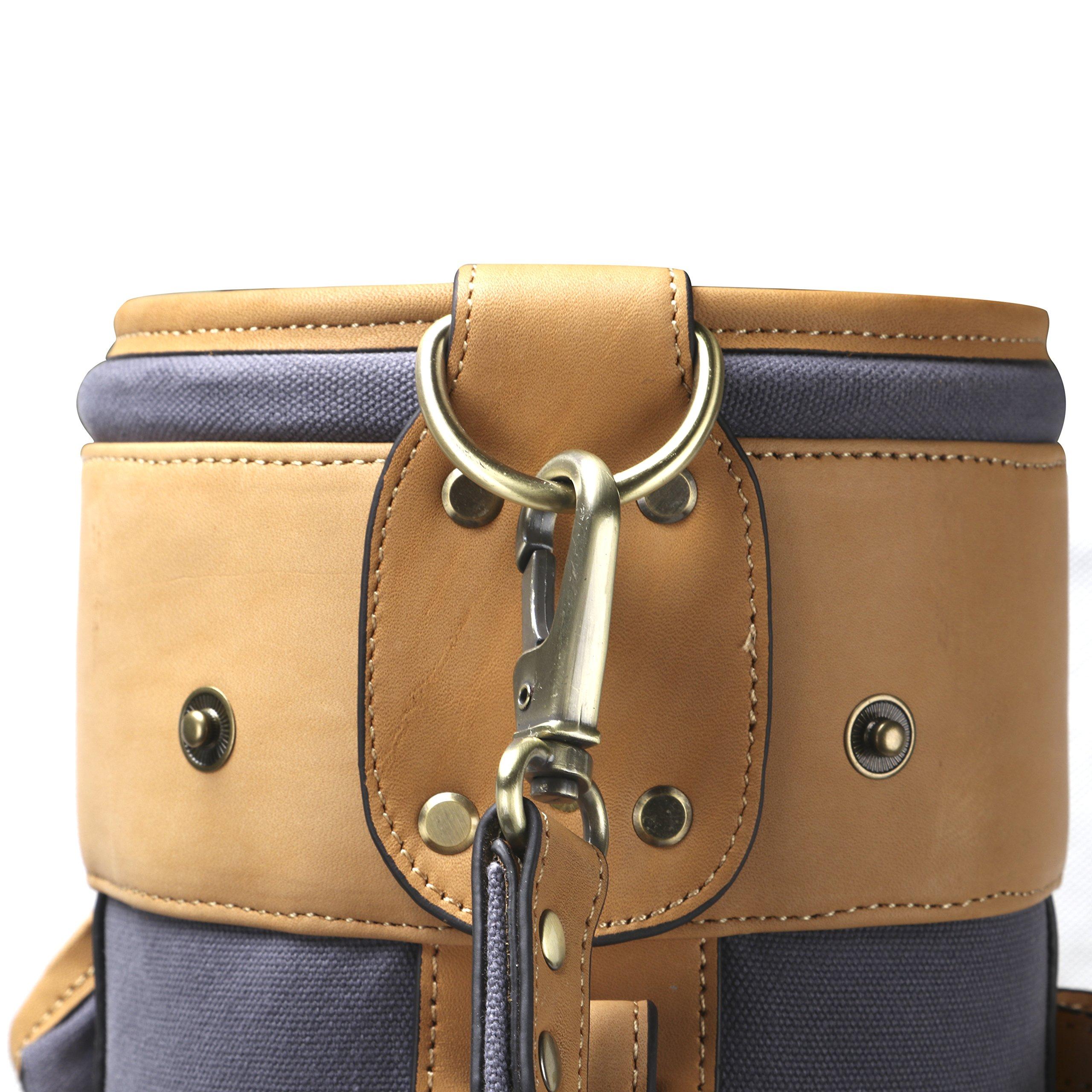 Louisville Golf Canvas Vintage Golf Carry Bag (Blue) by Louisville Golf (Image #3)