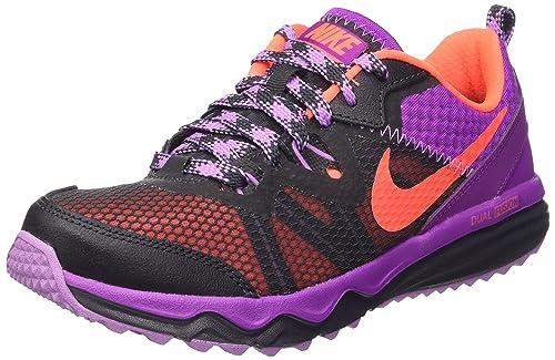 competitive price edc8c d1cc5 Nike Wmns Dual Fusion Trail, Zapatillas de Deporte Exterior para Mujer,  Anthracite Hyper Orange-Vivid Purple-Fuchsia Glow, 36.5 EU  Amazon.es   Zapatos y ...