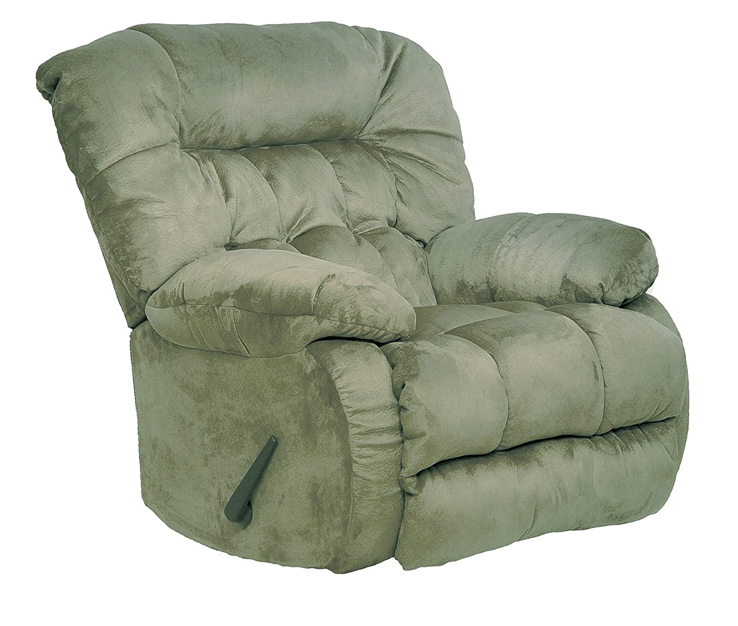 Amazon.com CATNAPPER 45175222015 Teddy Bear Chaise Swivel Glider Recliner Sage Kitchen u0026 Dining  sc 1 st  Amazon.com : big and tall recliner lazy boy - islam-shia.org