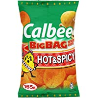 Calbee Big Bag Hot & Spicy Potato Chips